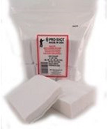 "Pro-Shot Cotton Flannel Cleaning Patches 12 Gauge/16 Gauge 3""SQ 250CT  #... - $9.47"