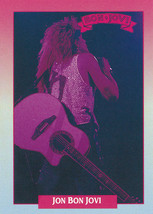 1991 Brockum Rock Cards #241 Jon Bon Jovi -Bon Jovi- - $1.99