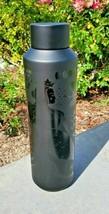 Starbucks Matte Black Mermaid Vacuum Insulated Water Bottle 20 Oz - $37.00