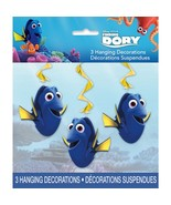 "Finding Dory 3 Hanging Swirls 26"" Decorations - $3.79"