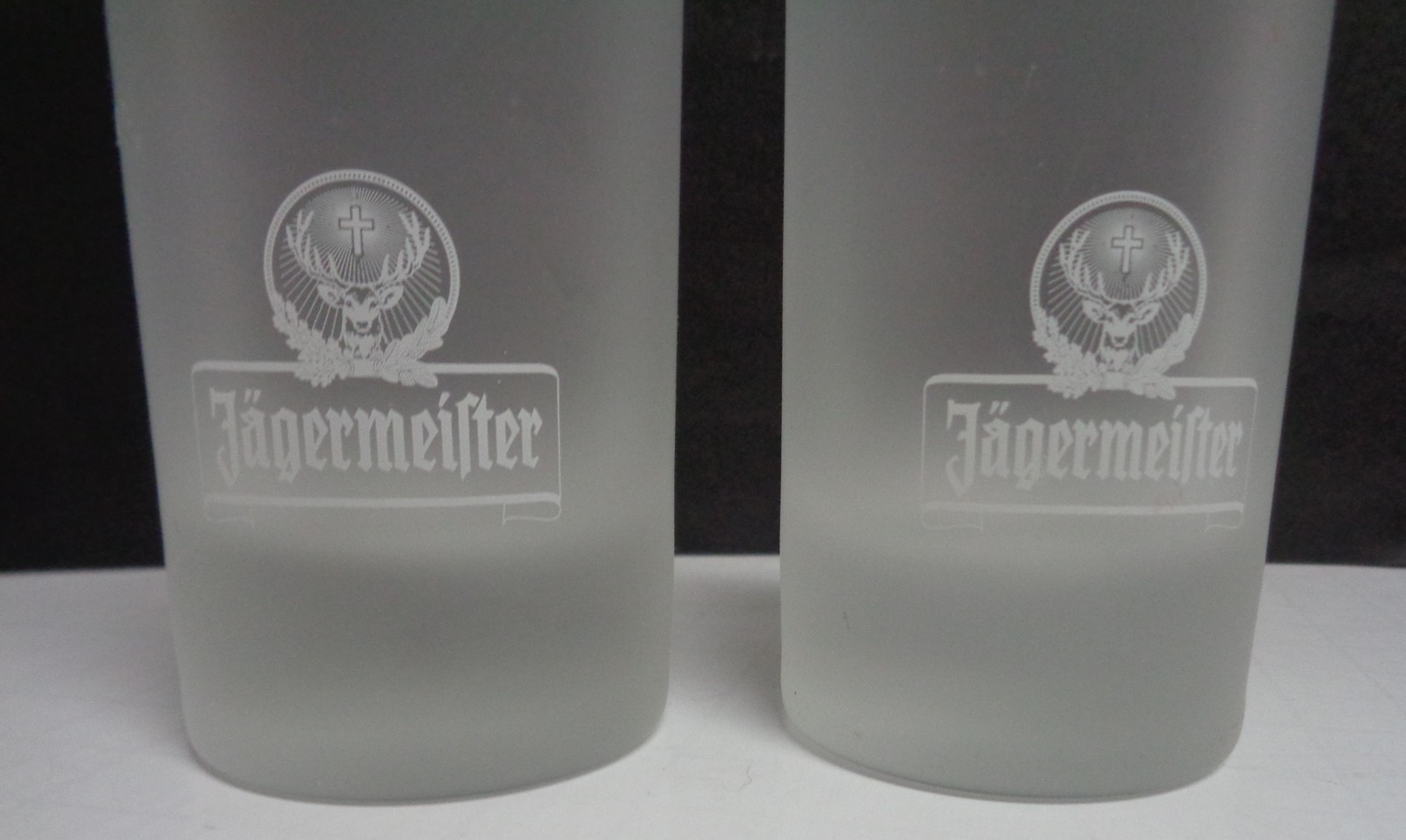 Jagermeister Frosted Shot Glasses Set Of Two 4""