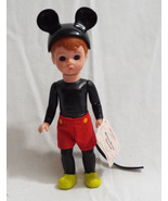 """Madame Alexander Mickey Mouse Boy Doll McDonald's 2004 5 1/4"""" Tall with Tag - $12.98"""