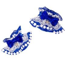 Angelic Pretty Starry Wrist Cuffs Blue Sweet Lolita Kawaii Japanese Fash... - $57.00