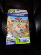 LEAP FROG LEAP READER TAG DISNEY PLANES FIRE & RESCUE BOOK NEW  - $35.99