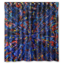 Abstract Painting #51 Shower Curtain Waterproof Made From Polyester - $29.07+