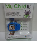 New Amber Alert My Child ID Safeguard Child Vital Information Blue Eleph... - $10.99