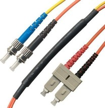 10M SC/ST Mode Conditioning (ST Side) Fiber Optic Cable (9/125-62.5/125) - $46.27