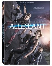 The Divergent Series: Allegiant [DVD + Digital] (2016) DVD New