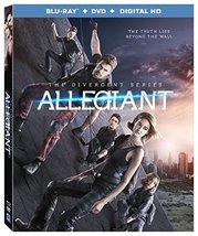 The Divergent Series: Allegiant [Blu-ray + DVD + Digital] (2016) New