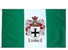 La Roche Coat of Arms Flag / Family Crest Flag - $29.99