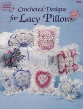 Crocheted Designs for Lacy Pillows, Pattern Booklet ASN 1066 Pineapples ... - $3.95