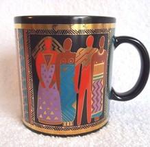 Laurel Burch Coffee Mug Cup Tribal Spirit 1988  - $14.95