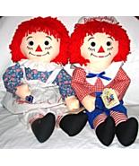 "25"" Raggedy Ann & Andy------1991--Johnny Gruelle - $29.00"