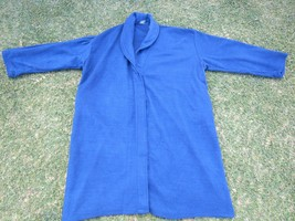BLUE POLYESTER BATH ROBE UNISEX BLUE POLYESTER ... - $4.66