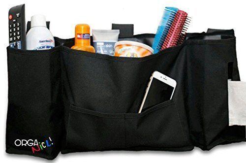 5 Pocket Hanging Organizer Storage Bedside Bathroom Dorm Rooms Traveling Caddy