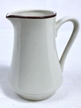 Countryside White Stoneware Collection Creamer Mini Pitcher Japan Cream ... - $6.85