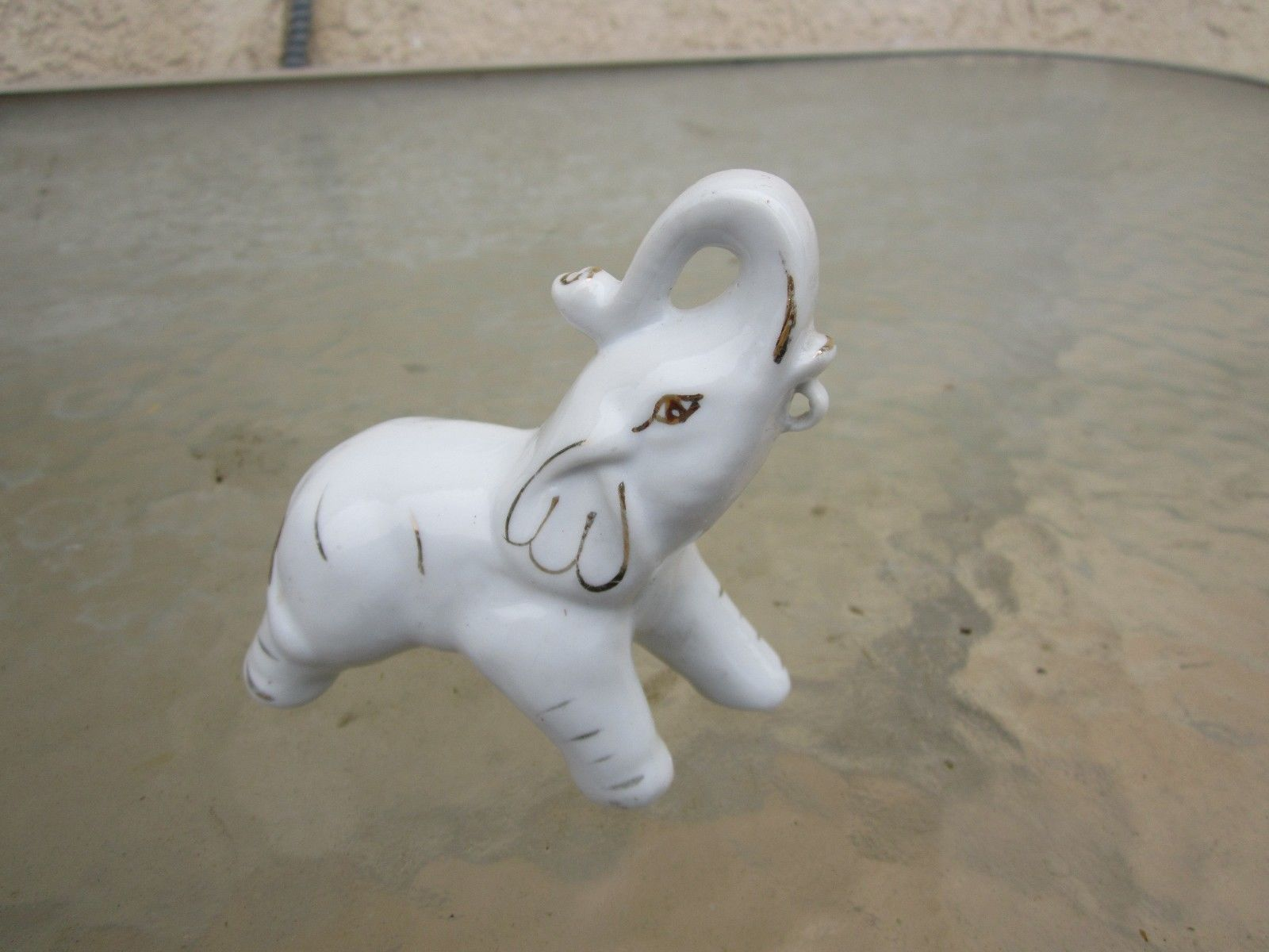 Elephant Figurine Miniature Elephant Decorative Figurine