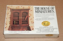 The House Of Miniatures X-acto Collectors Series NIB Cabinet 40001 Wood 85D - $9.50