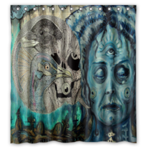 Abstract Trippy Psychedelic #19 Shower Curtain Waterproof Made From Poly... - $29.07+