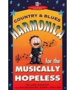 JON GINDICK - Country & Blues Harmonica For The Musically Hopeless - 10t... - $4.99