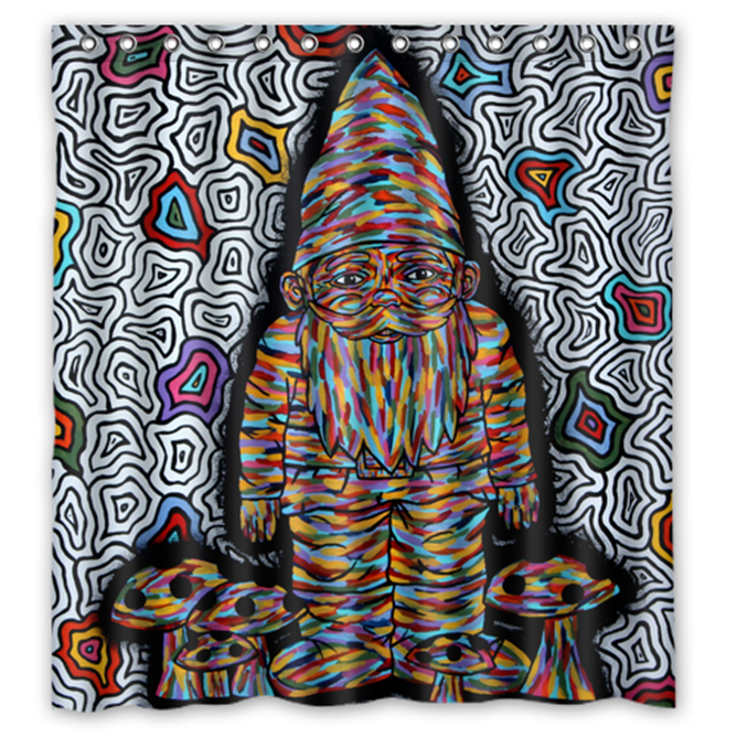 Primary image for Abstract Trippy Psychedelic #39 Shower Curtain Waterproof Made From Polyester