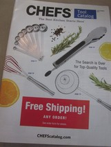 CHEF'S TOOL CATALOG LATE SUMMER 2015 THE BEST KITCHEN STARTS HERE BRAND NEW - $9.99