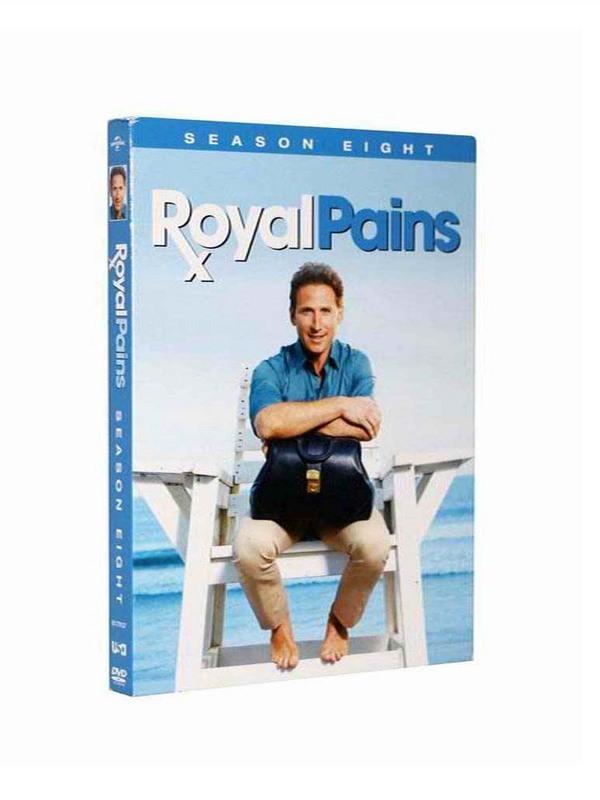 Royal Pains Season 8 Series DVD Box Set 2 Disc Free Shipping