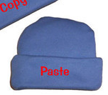Preemie Copy and Paste Hats for Twins Size under 1.5 Pounds