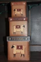 803027  Faith Family Friend Sheep s/3 paper mache' - $23.95