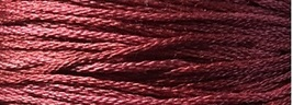 Brick House 6 strand hand dyed embroidery floss 5yd skein Ship's Manor  - $2.00
