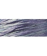Lavender Parasol 6 strand hand dyed embroidery ... - $2.00