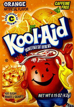 Kool-Aid Drink Mix Orange  10 count - $3.91