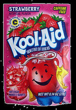 Kool-Aid Drink Mix Strawberry 10 count - $3.91