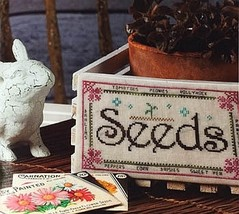 Seeds cross stitch chart Ship's Manor - $6.30