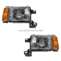 Monaco Magna 1993 1994 1995  Headlights Head Lights Front Lamps Signal Rv Pair - $306.90