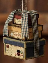 8B2960-Family Welcome Mini Nesting Boxes Paper Mache' - $4.50