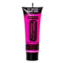 Paint Glow Neon Pink 10ml/.34oz UV Blacklight Reactive Hair Gel - $6.50