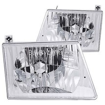 Holiday Rambler Imperial 1995 1996 Diamond Headlights Head Lamps Lights Pair Rv - $158.40