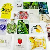 Korean Skincare K-Beauty 7-Day Face Mask Sheets Sampler Pack  - $54.00
