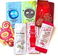 Best Korean Skincare Samples 20-Piece Korean Beauty Sample Box - $49.99