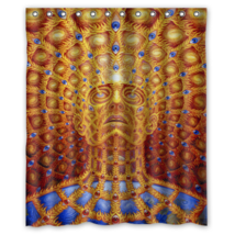 Alex Grey Design Shower Curtain Waterproof Made From Polyester - $29.07+