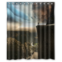 A Man Design #01 Shower Curtain Waterproof Made From Polyester - $29.07+