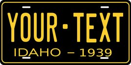 Idaho 1939 Personalized Tag Vehicle Car Auto License Plate - $16.75
