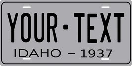 Idaho 1937 Personalized Tag Vehicle Car Auto License Plate - $16.75