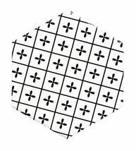 Nordic Creative Geometric Ceramic Coasters Insulation Pads Decorated Cork Mats C - $11.79