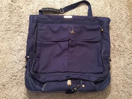 American Tourister Blue Garment Bag W/ Keys - $36.99