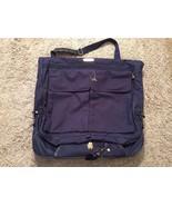 American Tourister Blue Garment Bag W/ Keys - $36.99