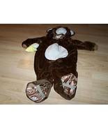 Infant Baby Size 12-24 Months Plush Brown Monkey Halloween Costume EUC - $28.00