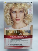 L'oreal Excellence 10 Natural Baby Blonde Permanent Hair Dye Colour Light Blonde - $17.66