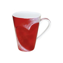 Waechtersbach Konitz Big Red Heart Coffee Tea Mug - $9.49